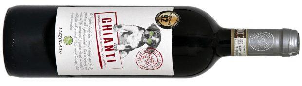 Pizzolato Chianti 90 point organic wines