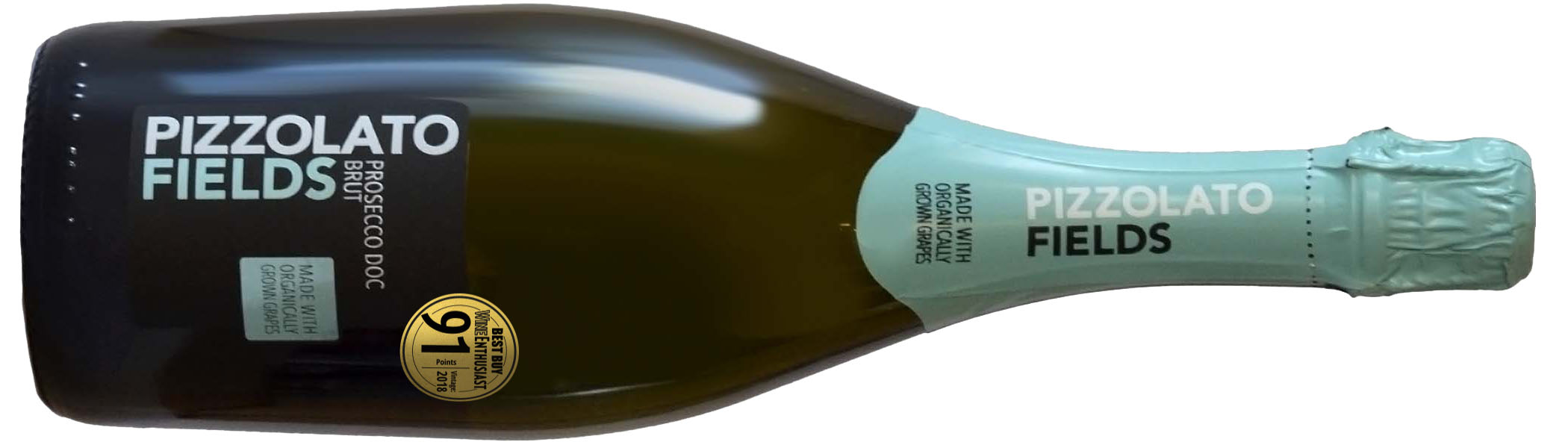 Pizzolato Fields Prosecco Spumante 90 Point Organic Wines