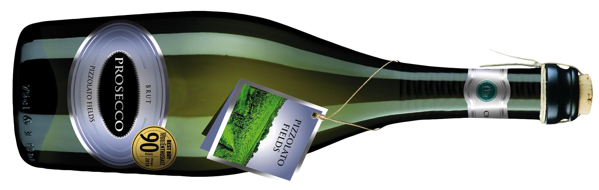 Pizzolato Fields Brut Prosecco Frizzante 90 Point Organic Wines