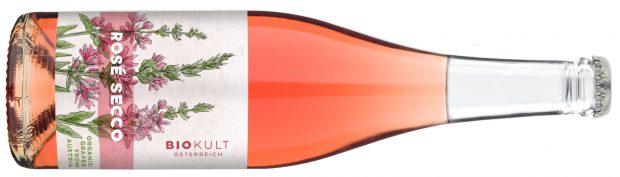 Biokult Rosé Secco Bottle