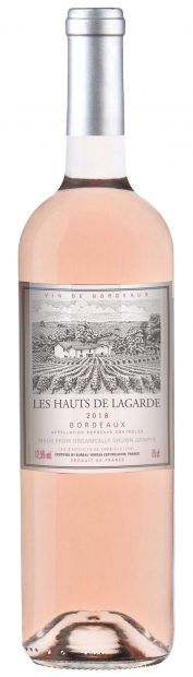 Les Hauts de Lagarde Rosé Bottle