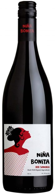 Niña Bonita ~ Organic Spanish Sangria Bottle