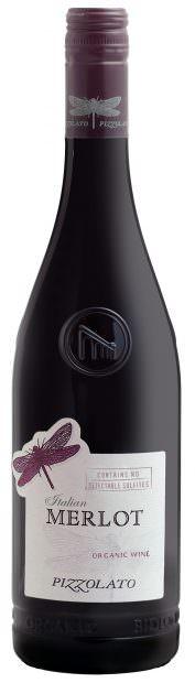 Pizzolato Merlot NSA Bottle