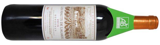 vegan wine Les Hauts du Lagarde Bordeaux