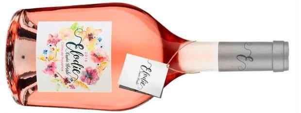 Elodie organic rosé wines