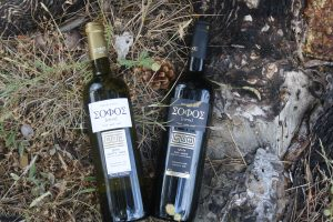 Sofos vegan wines from Domaine Gioulis
