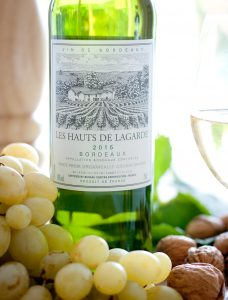 French organic wine