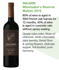 Biodynamic wines from Argentina - Winemakers Reserve Malbec