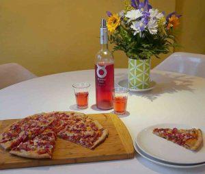 Spanish organic wine Tarantas Bobal with Coca Recipe
