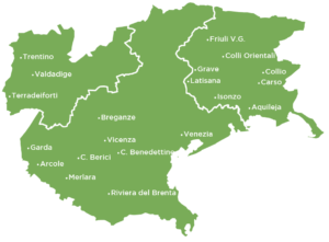 Delle Venezie map