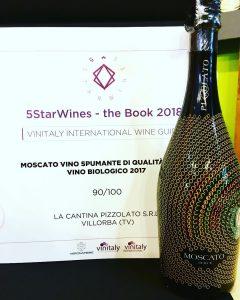 Pizzolato Moscato winner at VinItaly