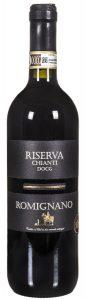 Italian organic wine Chianti Reserva