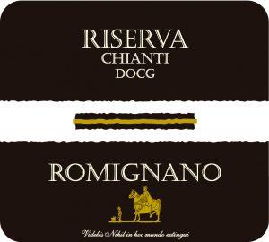 Italian organic wine Romignano Chianti Reserva