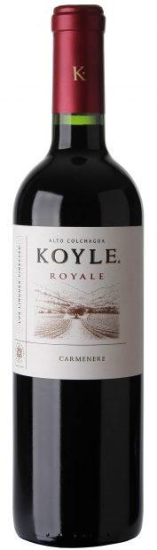 Koyle Royale Carmenere Bottle