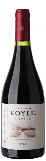 Koyle Royale Syrah Bottle