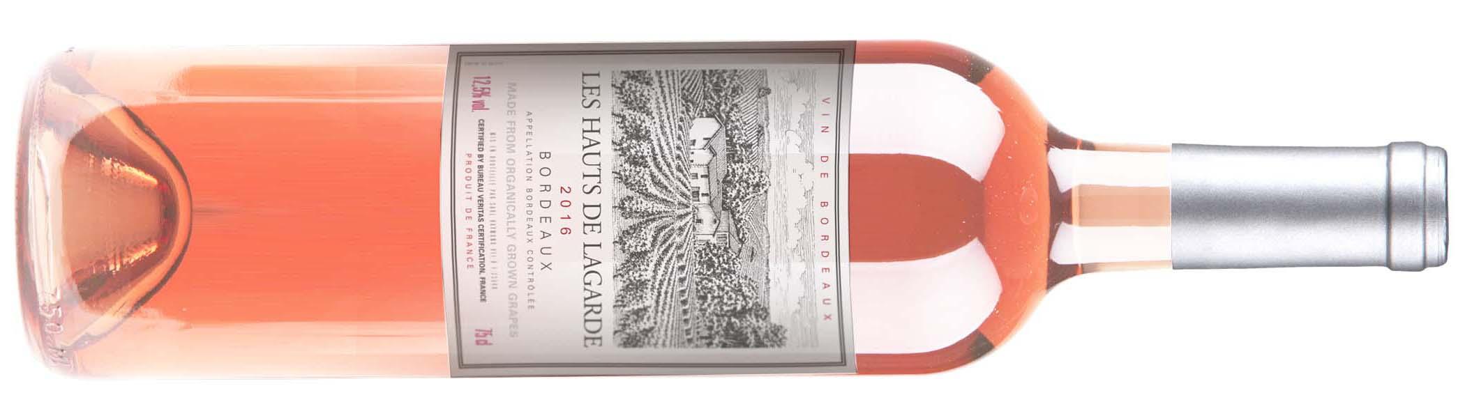 Les Hauts de Lagarde Rosé Wine