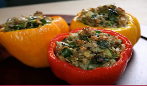 World Malbec Day Indian Stuffed Peppers