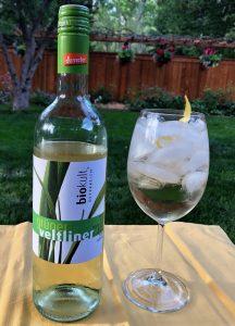 organic wine cocktail biokult Gruner Veltliner