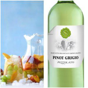organic wine cocktails Pizzolato pinot grigio