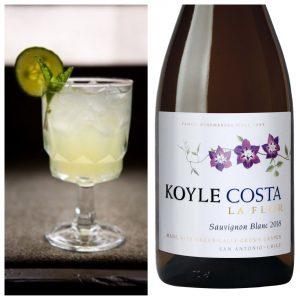 organic wine cocktails Costa La Flor