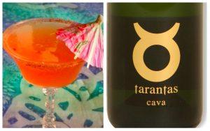 organinc wine cocktails Tarantas Cava