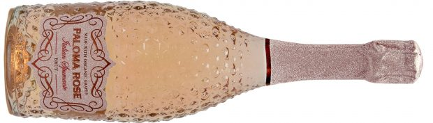 """Paloma Rose"" M*USE Spumante Rose Secco Bottle"
