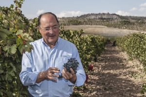 Carlos Moro organic wine labels