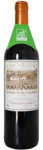 Award-Winning organic wine Les Hauts de Lagarde Bordeaux