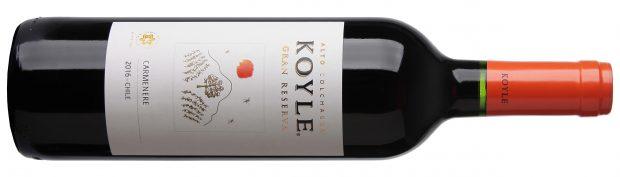 90 point wine Koyle Gran Reserva Carmenere