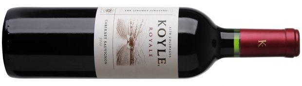 90 point wine Koyle Royale Cabernet Sauvignon