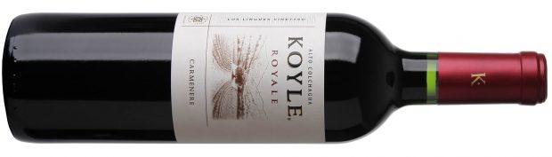 90 point wine Koyle Royale Carmenere