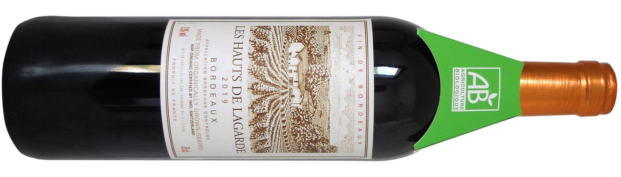 Les Hauts de Lagarde Bordeaux Rouge Best Organic Wines
