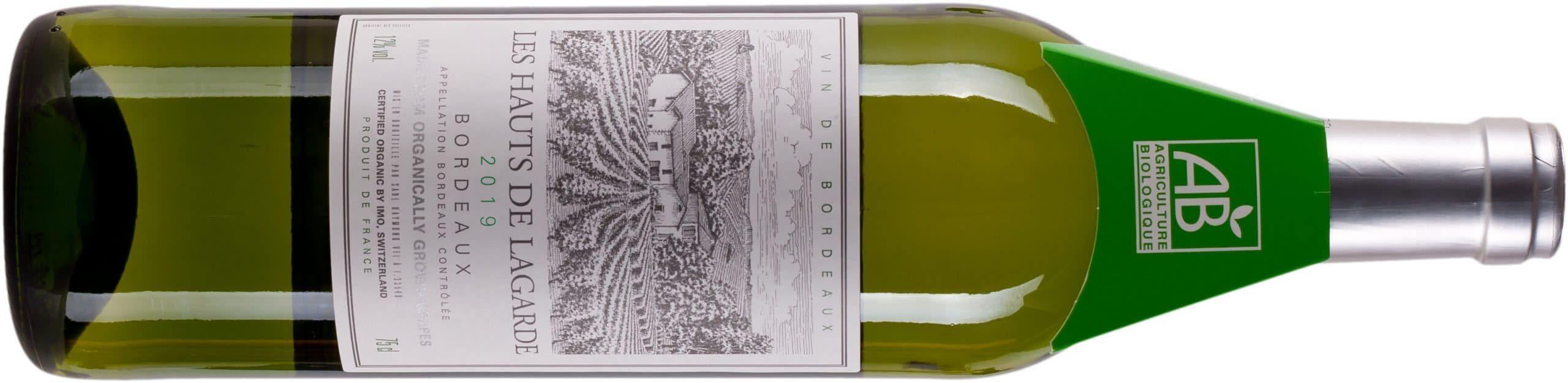 Les Hauts de Lagarde Bordeaux Blanc Best Organic Wines