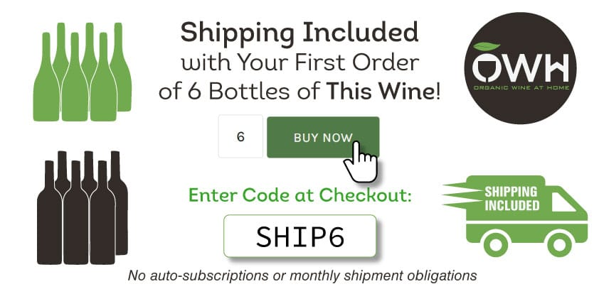 Shipping Included with Your First Order of 6 Bottles